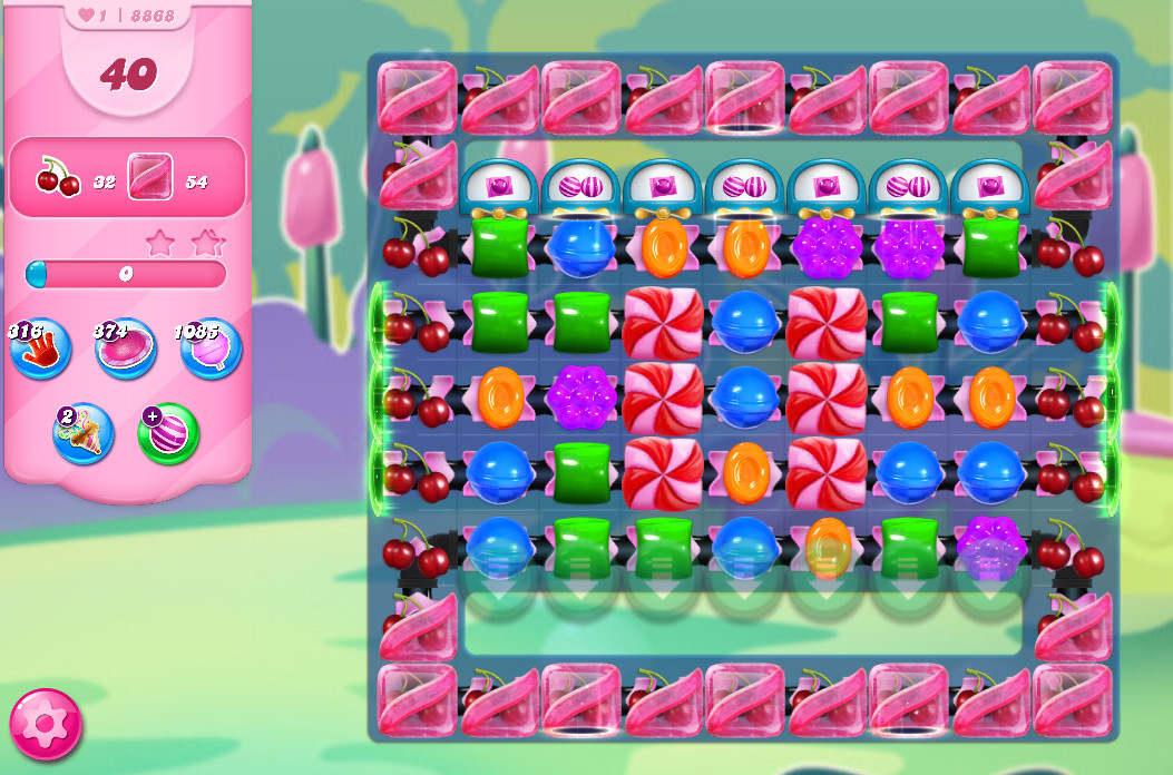 Candy Crush Saga level 8868