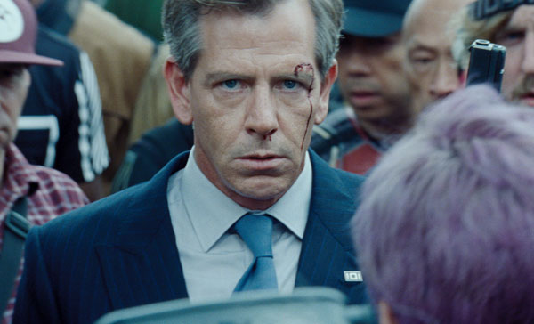 Ben Mendelsohn plays the main antagonist, Sorrento in READY PLAYER ONE (2018)
