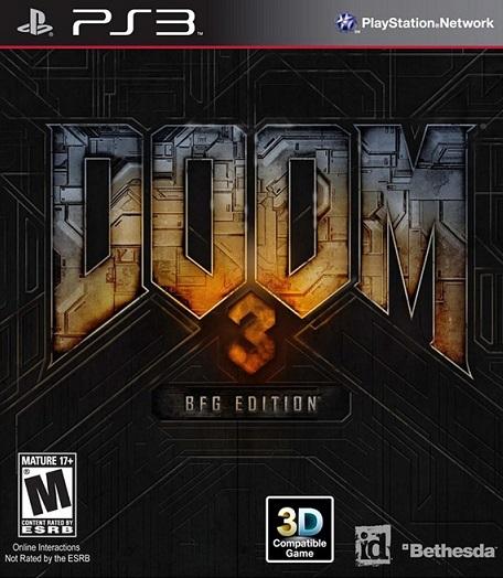 Doom 3 BFG Edition PS3 ISO