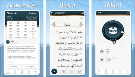 Aplikasi Adzan Otomatis - Muslim Pocket
