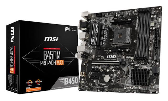 Motherboard MSI B450M PRO-VDH MAX
