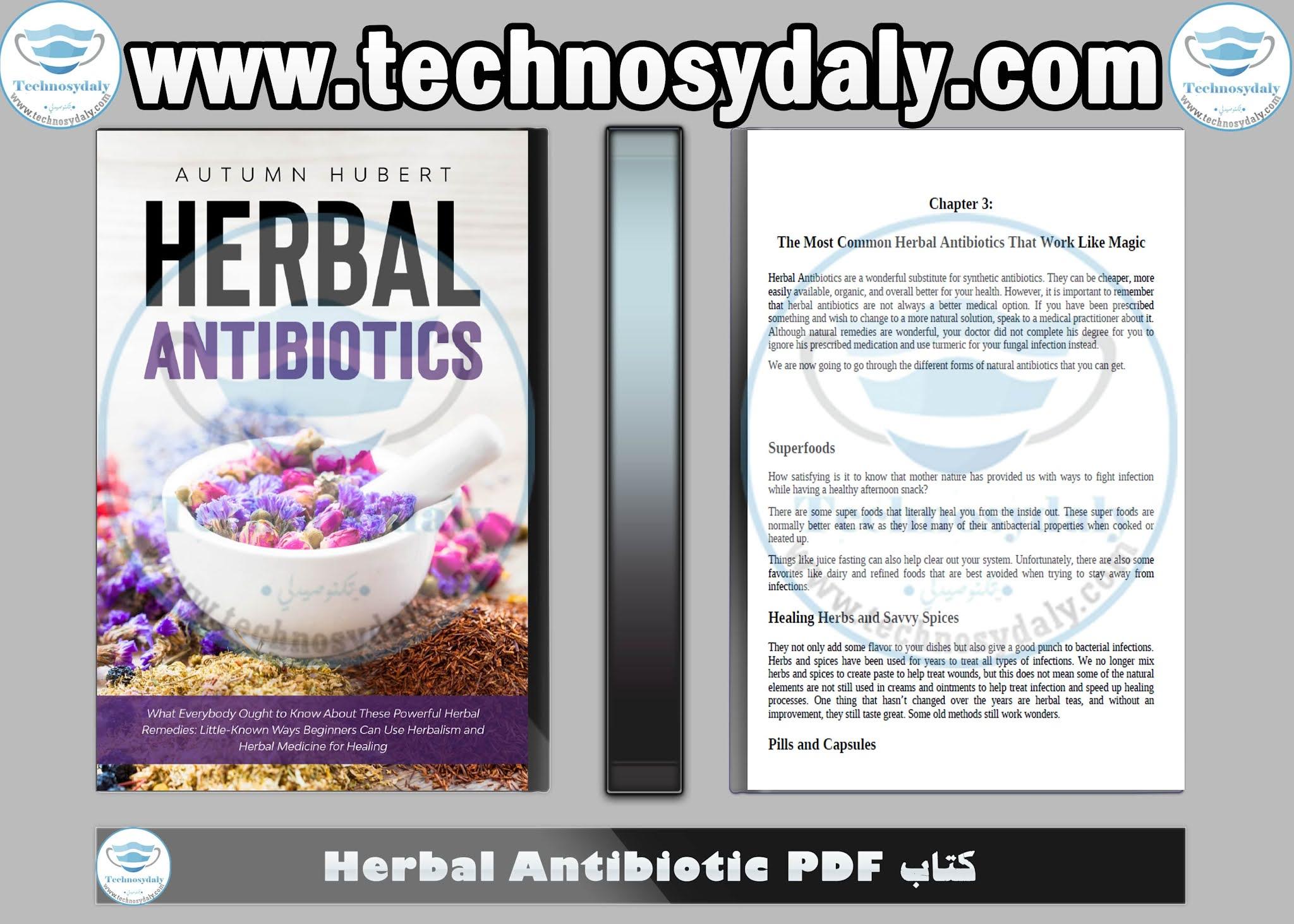 كتاب Herbal Antibiotic PDF
