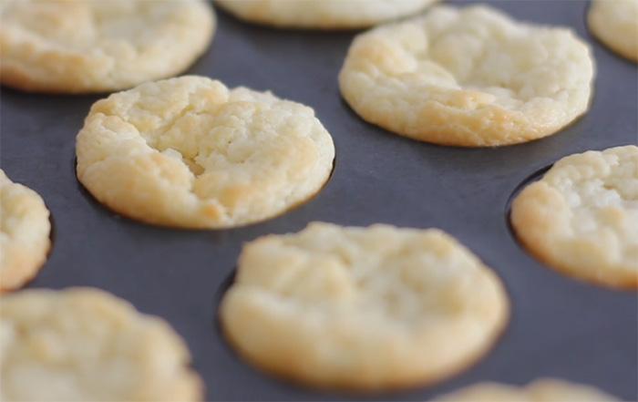 Three Ingredient Cream Cheese Mini Biscuits