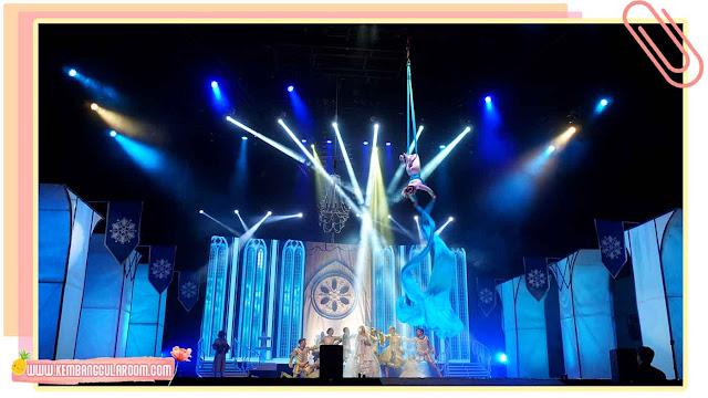 circus on ice di trans studio bandung