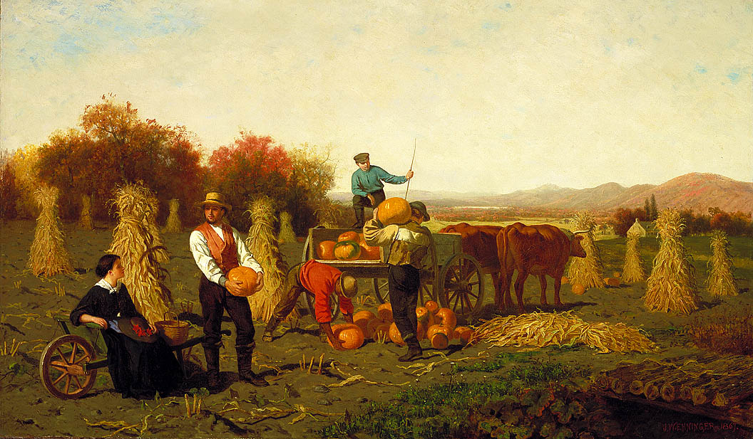 Fall Autumn Paintings From The 1800s Fall Paintings Of