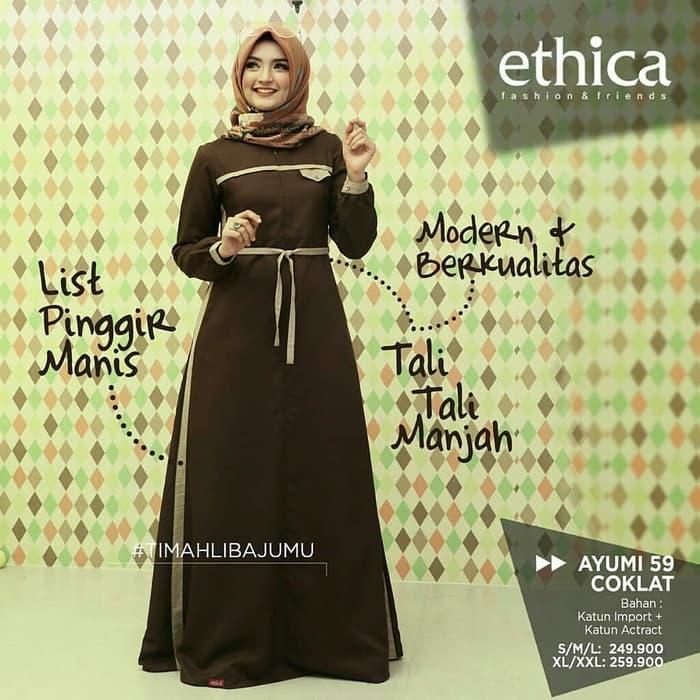 Model Gamis Ethica Terbaru 2019 Gambar Islami