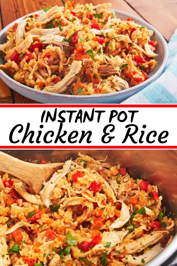 Instant Pot Chicken and Rice | Crockpot Recipes Healthy, Crockpot Recipes Easy, Crockpot Recipes Chicken, Crockpot Recipes Beef, Crockpot Recipes Soup, Crockpot Recipes Dinner, Crockpot Recipes Vegetarian, Crockpot Recipes Porkchop, Crockpot Recipes Cheap, Crockpot Recipes Keto, Crockpot Recipes Pulled Pork, Crockpot Recipes Pot Roast, Crockpot Recipes Breakfast, Crockpot Recipes 3 Ingredient, Crockpot Recipes Low Carb, Crockpot Recipes Pasta, Crockpot Recipes Best. #instantpot #chicken #rice