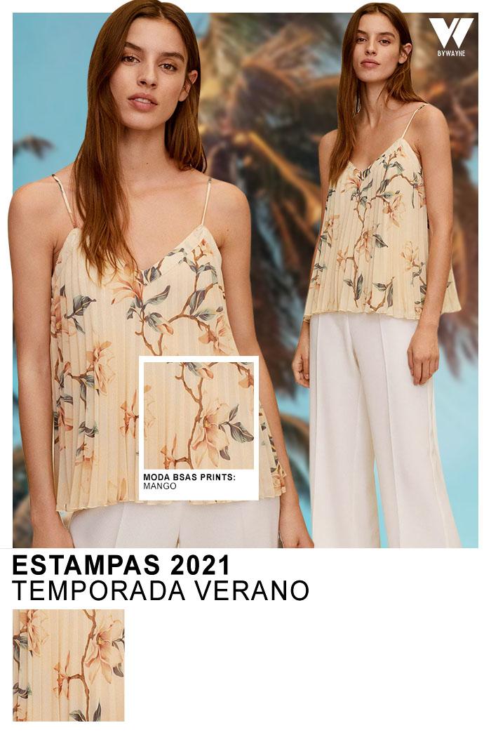 Estampas 2021 moda estampas primavera verano 2021