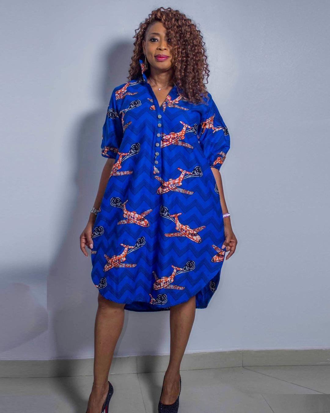 Cool Pretty And Sexy Ankara Shirt Dresses Fashion Designs For Women