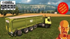 Krampe SB3060 Agricultural Trailer (Needs Agrar Truck)
