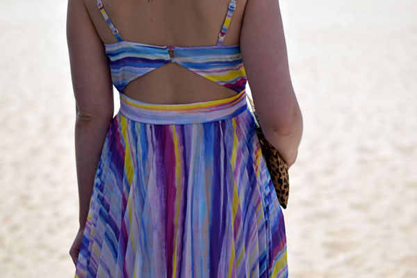 bright_striped_perfect_beach_wedding_guest_dress