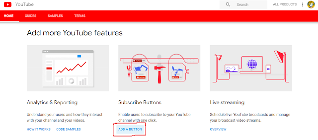 How to install the Youtube subscribe button on the blog