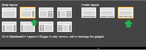 sidebar and footer layout