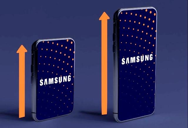 تعرف على هاتف سامسونج الجديد الذى يتوفر على شاشه قابله لتمديد