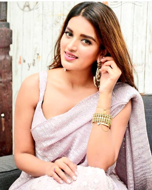 Glamorous Bollywood Actress Nidhhi Agerwal Latest Pics  IMAGES, GIF, ANIMATED GIF, WALLPAPER, STICKER FOR WHATSAPP & FACEBOOK