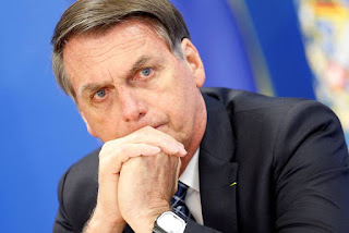 Bolsonaro é eleito 'Pessoa Corrupta do Ano' por consórcio internacional de mídia