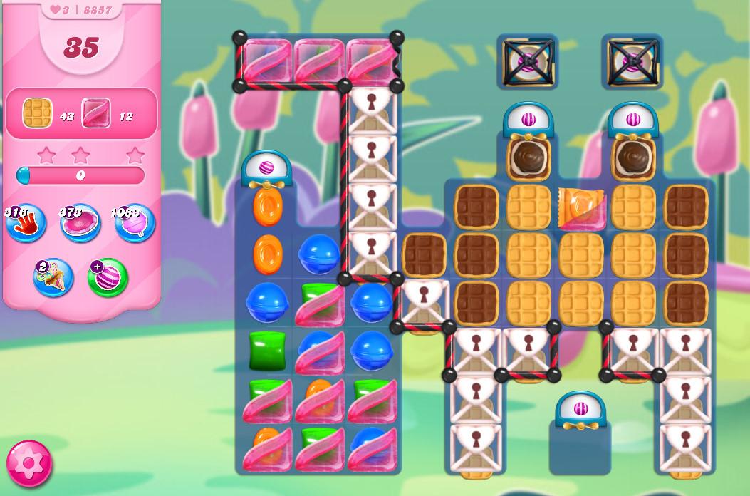 Candy Crush Saga level 8857