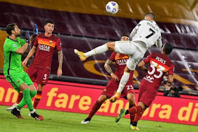 ملخص واهداف مباراة يوفنتوس وروما (2-2) الدوري الايطالي