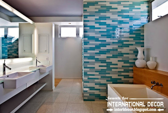 beautiful bathroom tiles designs ideas 2017You will like also :Top shower tile ideas , and Stylish herringbone tile patternHow to install penny floor , and unique flooring ideasFantasy of River white granite and super white granite