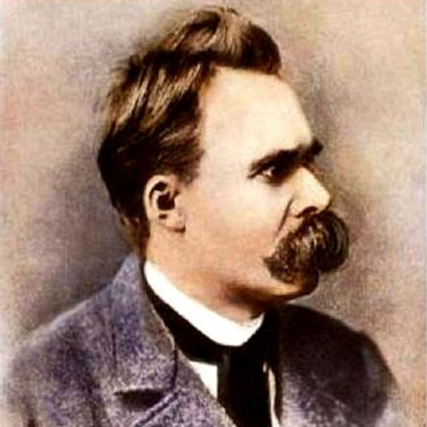 O filósofo alemão Nietzsche.