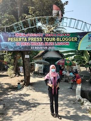 Press Tour Blogger di Blue Lagoon Jogja, Wisata Alam Asri Sleman Jogja