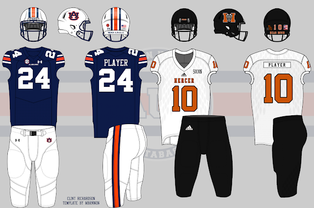 2017 auburn football mercer