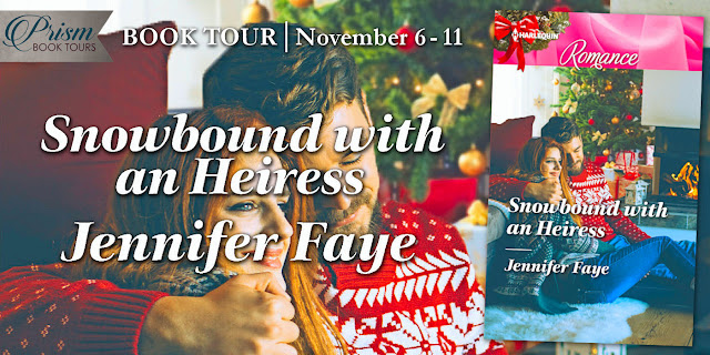 It's the Grand Finale for SNOWBOUND WITH AN HEIRESS by JENNIFER FAYE!