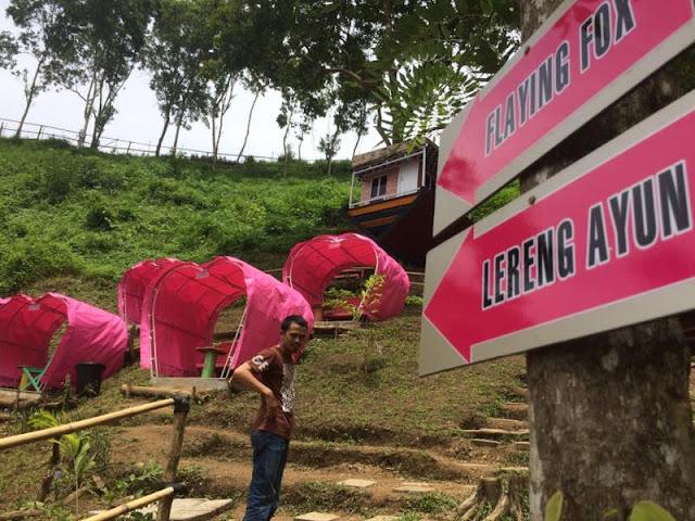 Objek wisata Lereng Cinta di Kecamatan Sendana, Palopo. [ist]