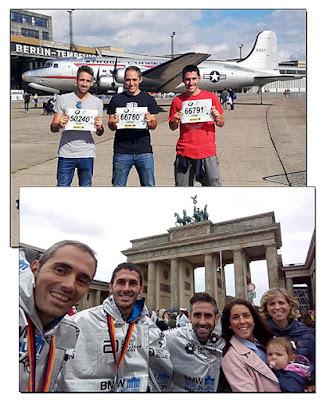 Atletismo Aranjuez Maratón Berlín