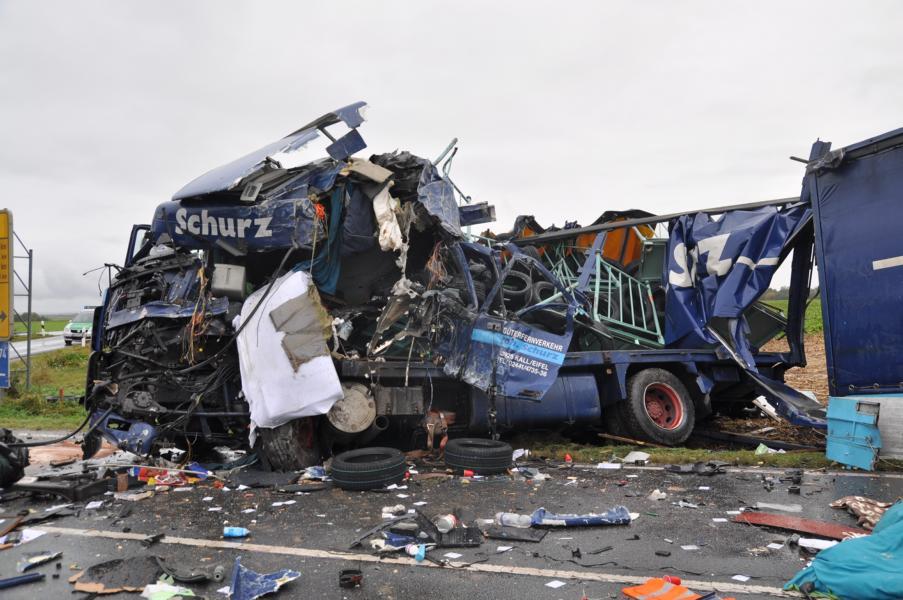 Unfall B13 Gestern