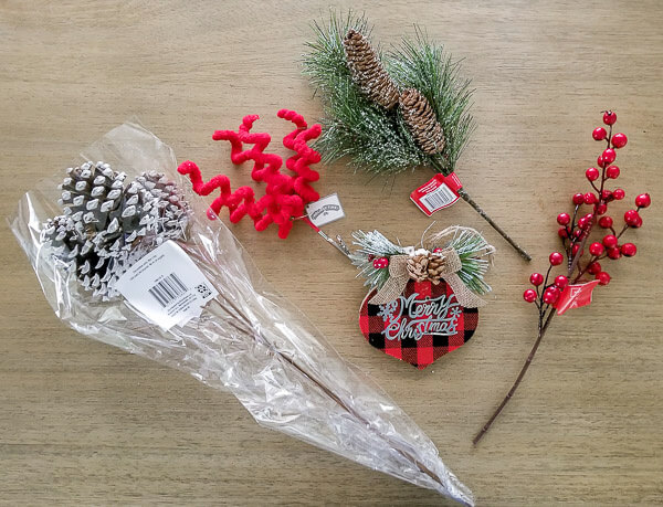 supplies to decorate wreath