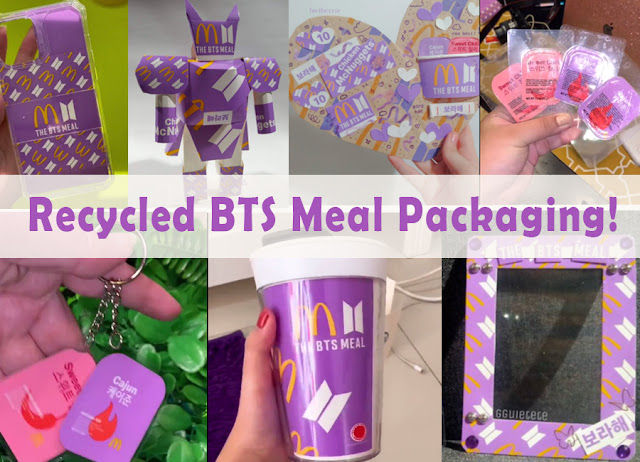 Recycled BTS Meal Packaging