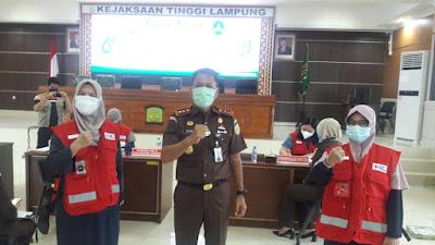 Kejati dan PMI Lampung Gelar Donor Darah