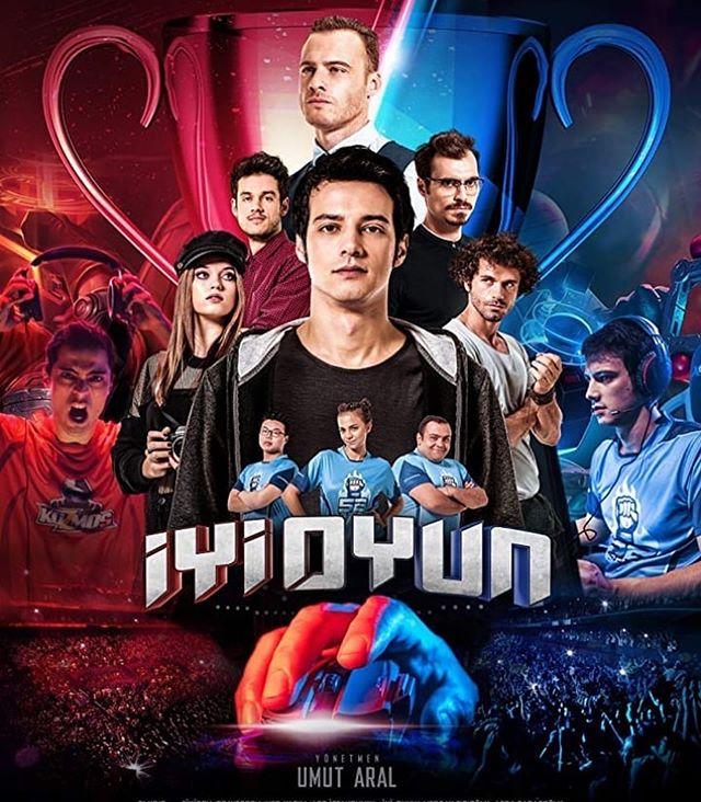 Dünyanın İlk Espor Filmi: İyi Oyun Afiş