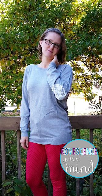 Brixon Ivy Fierro Elbow Patch Crew Neck Sweater $58