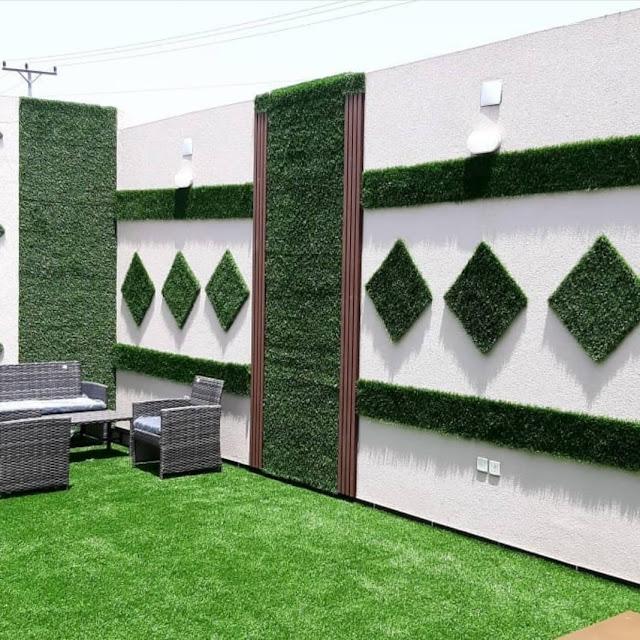 جلسات حدائق خارجية بالباحة,تنسيق حوش المنزل في الباحة