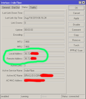 Add New PPPOE Client