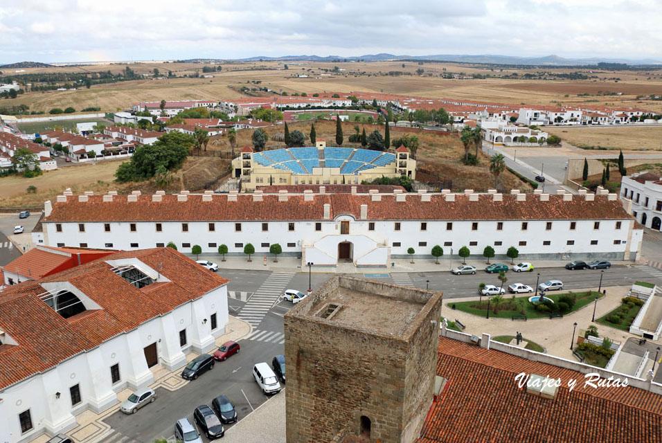 Cuartel de caballería, Olivenza