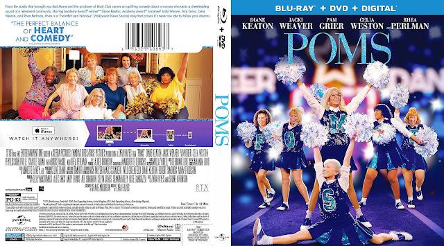 Poms DVD Cover