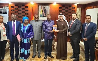 الرئيس الغيني يشكر دولة الإمارات ومجلس الوحدة الاقتصادية العربية لدعم مبادرات التنمية والتطوير في إفريقيا