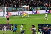 Italia Vs Spanyol: Menang Adu Penalti, Gli Azzurri ke Final, Tunggu hasil pertandingan Inggris vs Denmark