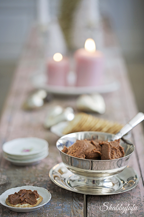 chocolate cheese spread