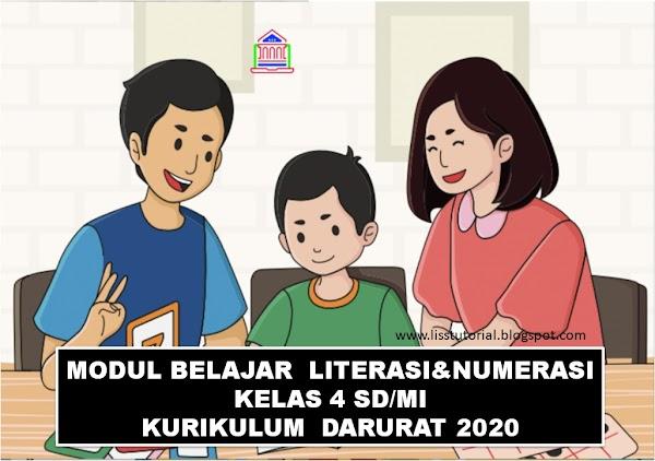 Modul Pembelajaran Jarak Jauh Kelas 4 SD Kurikulum Darurat Tahun 2020