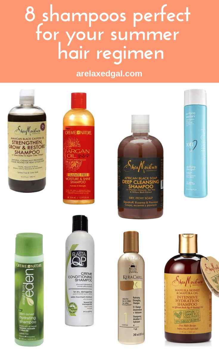8 shampoos perfect for your summer hair regimen | A Relaxed Gal