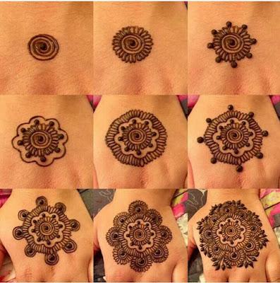 DIY Belajar Buat Henna Yang Mudah