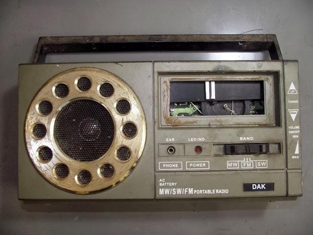 radio receiver DAK
