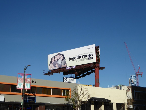 Togetherness season 2 billboard