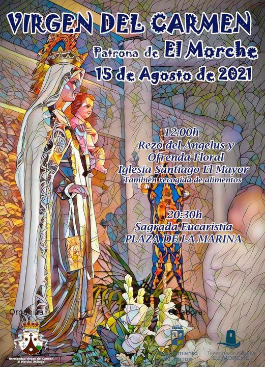 Cartel  de Virgen del Carmen de El Morche 2021