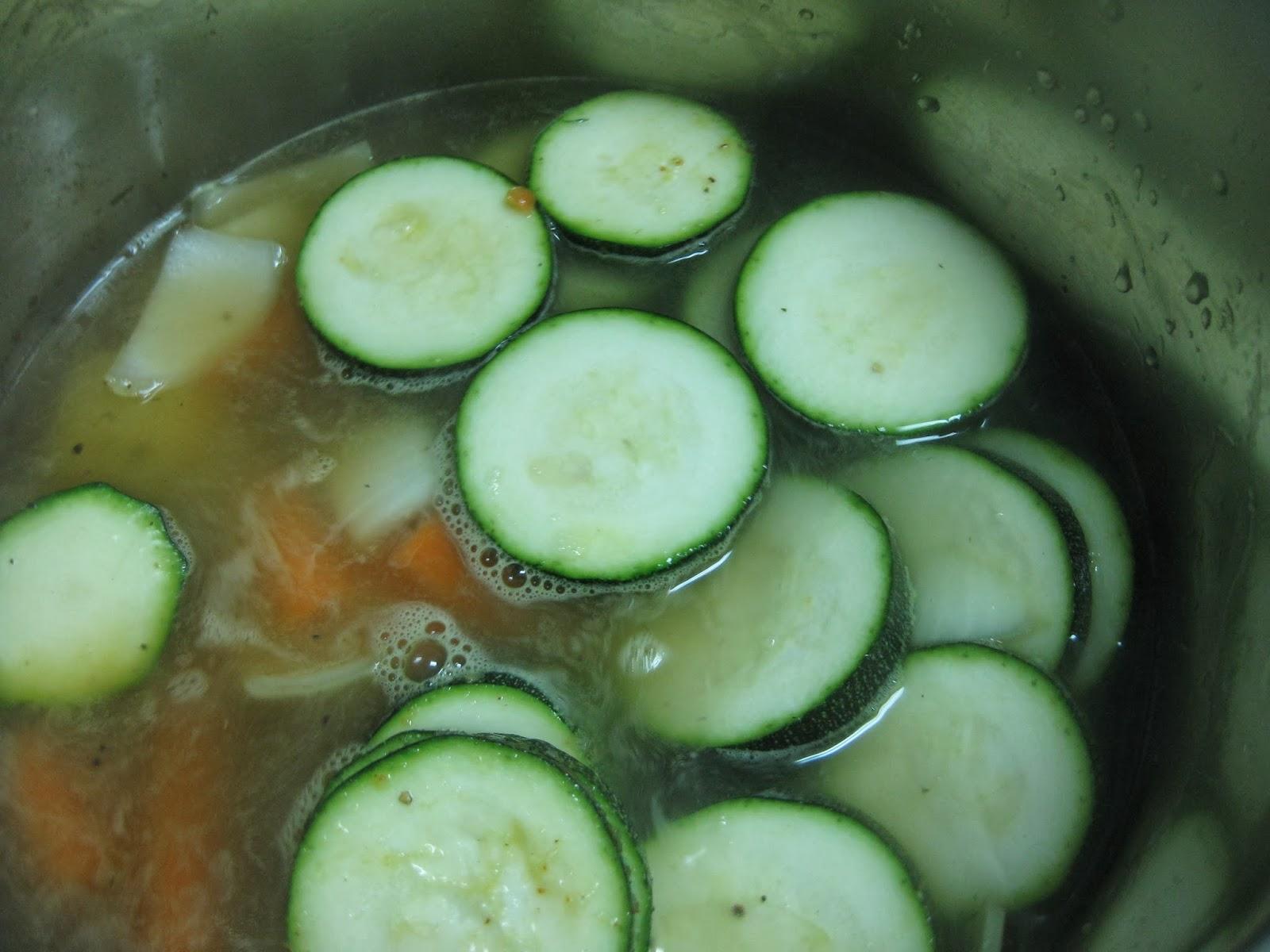 El Chef Coli: Crema de calabacín con zanahorias