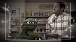 Chris, Oscar the Grouch, Sesame Street Episode 4412 Gotcha season 44